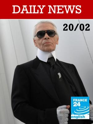 Mort de Karl Lagerfeld : le monde de la mode perd un de ses génies