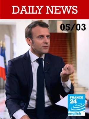 Macron à la télévision italienne pour se réconcilier avec l'Italie et défendre l'Europe
