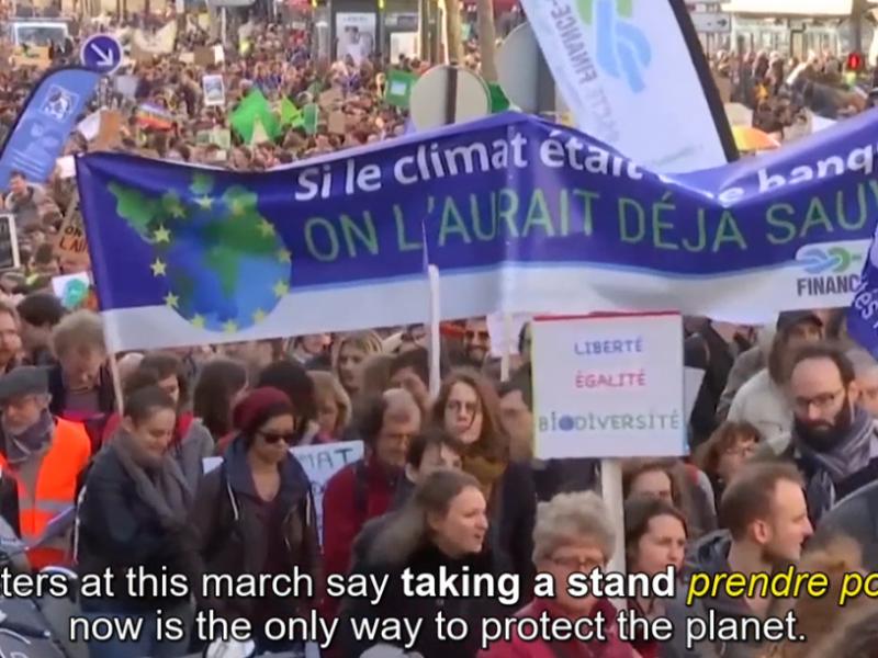 """Marche pour le climat 2019 : la """"Marche du siècle"""""""