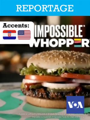 """Comment Burger King a créé un """"Whopper"""" végétarien au goût similaire à l'original ?"""