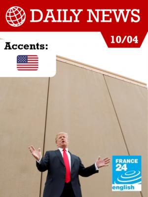 Image de couverture Donald Trump à la frontière mexicaine : « On est complet ! »