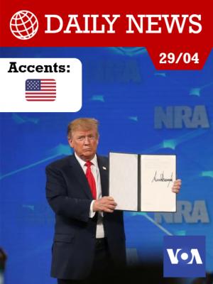 Image de couverture Donald Trump se retire du traité de l'ONU sur le commerce des armes