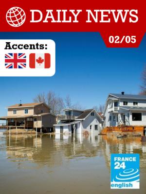 Inondations record au Canada : des milliers d'évacués près de Montréal