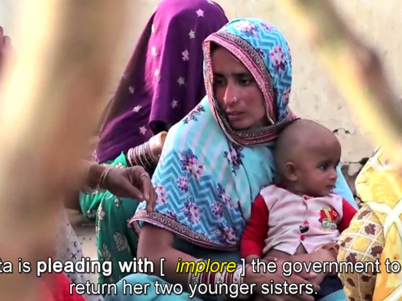 Enquête au Pakistan sur le kidnappings de femmes et leur conversion forcée à l'islam