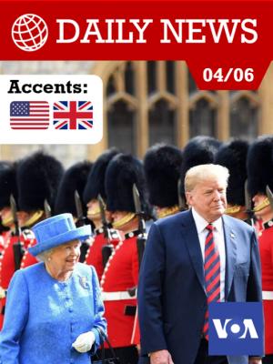 La reine reçoit Donald Trump et son épouse en grande pompe