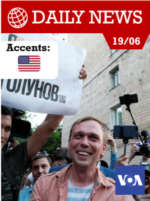 Le journaliste russe Ivan Golounov libéré, après une mobilisation sans précédent.