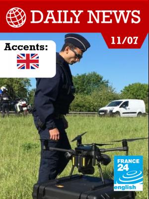 Le drone, nouvelle arme de la police française