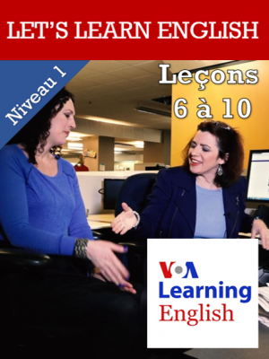 Let's Learn English Niveau 1 - Leçons 6 à 10