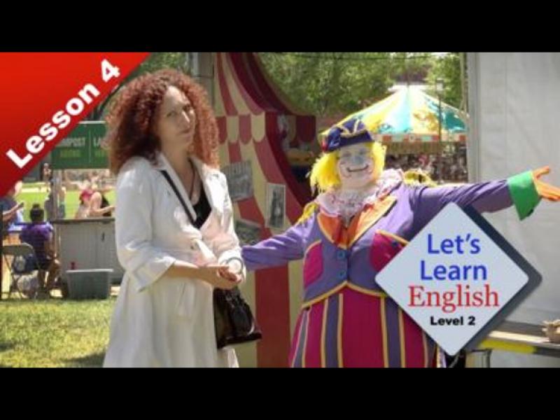 Leçon 4: Run Away With the Circus!