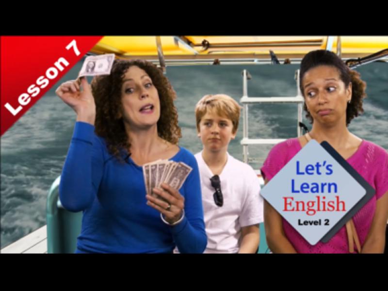 Leçon 7 : Tip Your Tour Guide