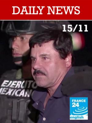 """Chicago: Début du procès de """"El Chapo"""" le baron de la drogue mexicain"""