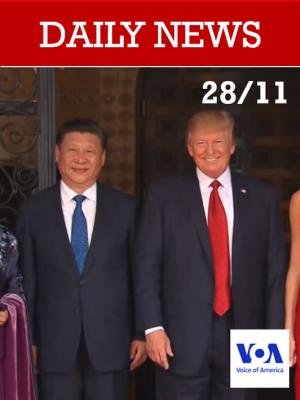 En marge du G20, Trump tentera d'obtenir un accord commercial avec la Chine