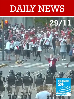 Le match River-Boca tourne à la crise nationale en Argentine