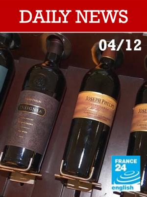 Trump menace de surtaxer les vins français