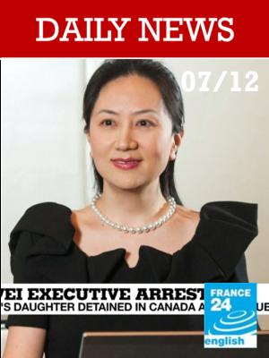 La numéro 2 du géant chinois Huawei arrêtée au Canada