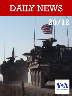 Trump annonce le retrait de l'armée américaine de Syrie
