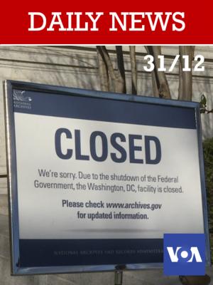 Etats-Unis : Le shutdown se poursuivra jusqu'en 2019