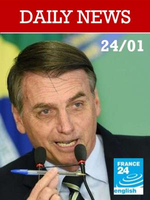 À Davos, Jair Bolsonaro présente son « nouveau Brésil »